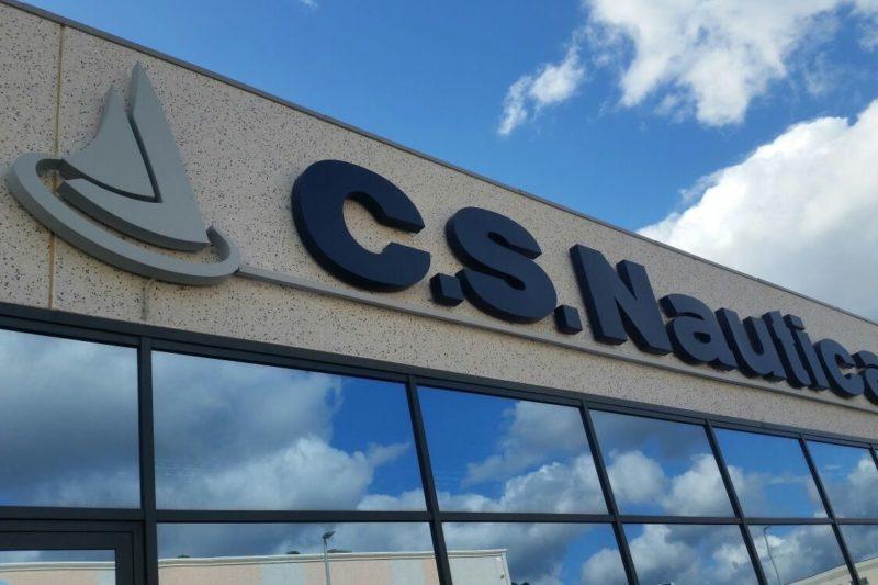 NAVARRA Neon, Olbia: Insegne pubblicitarie a led